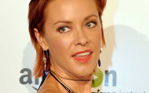 "Actress Kristanna Loken of ""The L Word"" is 37. (Getty Images: Mark Ralston)"