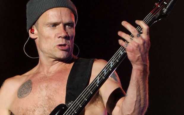 "Bassist Michael ""Flea"" Balzary of the Red Hot Chili Peppers is 54. He also played Nihilist #2 in the Coen brothers' film ""The Big Lebowski."" (Getty Images: Kevin Winter)"