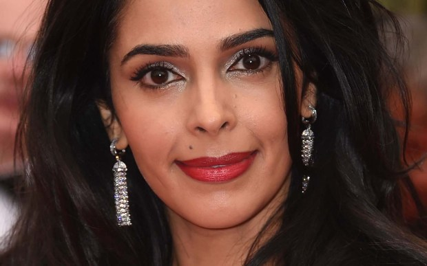 "Actress Mallika Sherawat — of ""The Myth,"" with Jackie Chan — is 40. (Getty Images: Ian Gavan)"