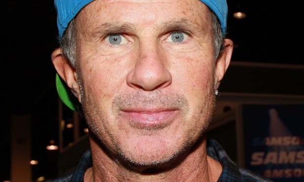 Drummer Chad Smith of Red Hot Chili Peppers and of Chickenfoot is 53. (David Livingston/Getty Images for NAMM)