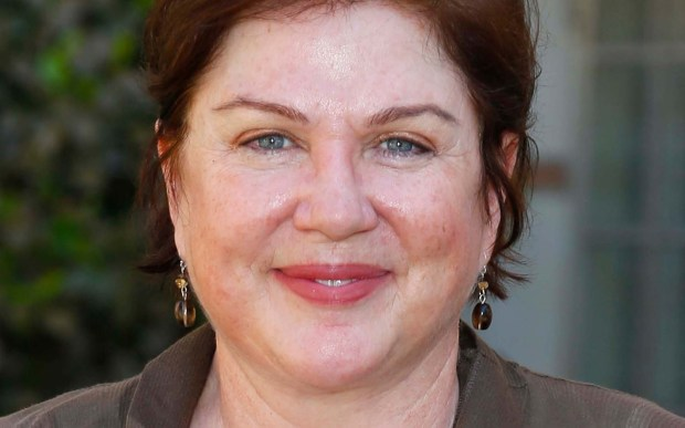 """""""Saturday Night Live"""" alumna and actress Julia Sweeney is 58. She made a great Pat. (Getty Images: Imeh Akpanudosen)"""