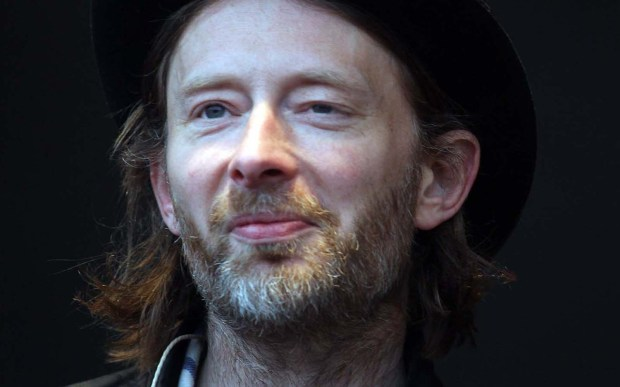 Singer and Radiohead frontman Thom Yorke has Creeped to 48. (Getty Images: Matt Cardy)
