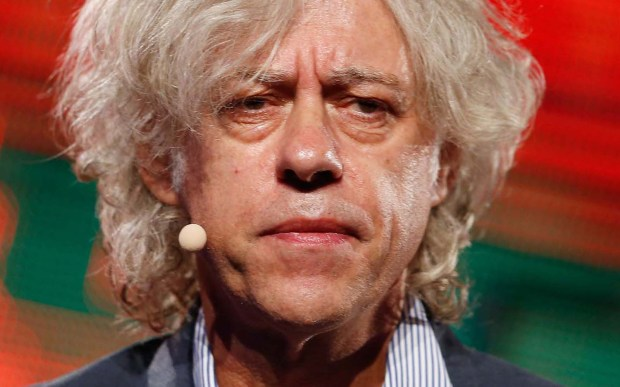 Singer Bob Geldof is 65. (Getty Images: Andreas Rentz)