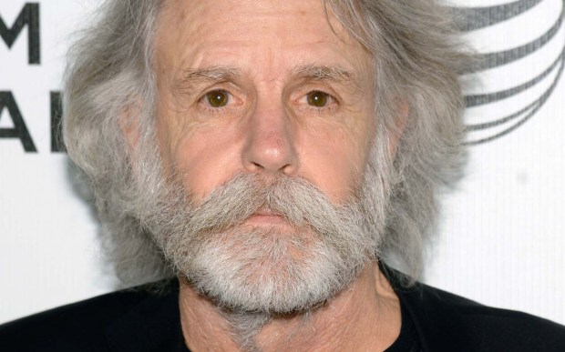 Guitarist Bob Weir of the Grateful Dead is 69. (Getty Images: Dave Kotinsky)