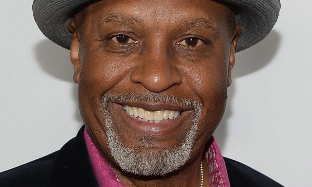 "Actor James Pickens Jr. of ""Grey's Anatomy"") is 62."