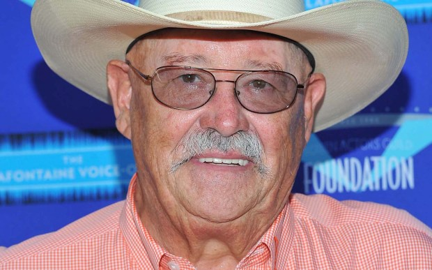 "Actor Barry Corbin — ""Anger Management,"" ""One Tree Hill"" — is 76. (Getty Images: Angela Weiss)"