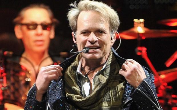 Singer David Lee Roth, back with Van Halen, is 63. That's drummer Alex Van Halen in the back. (Getty Images: Theo Wargo)
