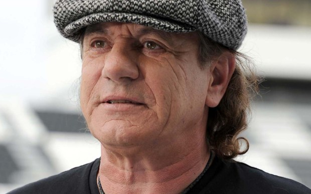 Singer and Rock and Roll Hall of Famer Brian Johnson of AC/DC is 69. (Associated Press: Jeff Daly)