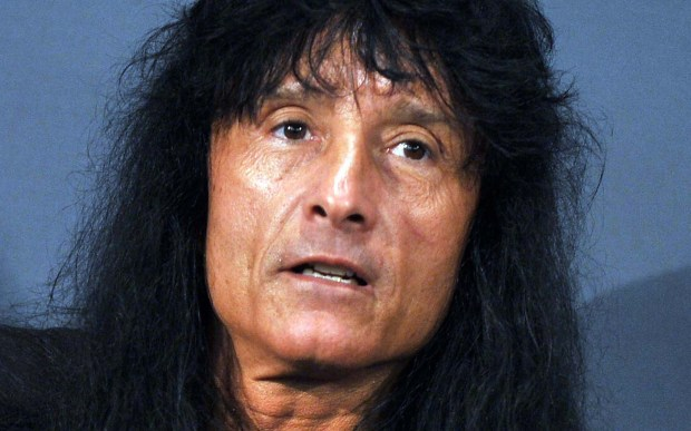 Singer Joey Belladonna of Anthrax is 56. (Getty Images: Theo Wargo)
