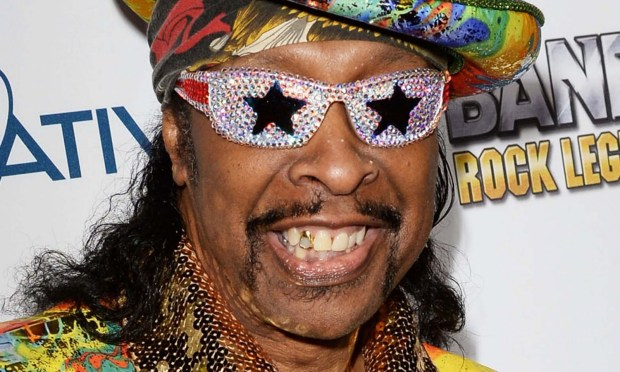 Musician Bootsy Collins is 63. (Photo by Jason Merritt/Getty Images for BandFuse: Rock Legends)