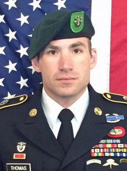 Army Staff Sgt. Adam Thomas, 31, was killed by an improvised explosive device in Afghanistan on Oct. 4, 2016. Thomas was a Minnesota native. (Department of Defense)