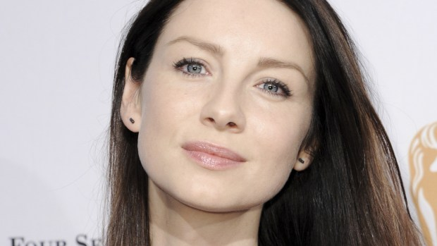 "Irish actress Caitriona Balfe star in Starz's ""Outlander."" (Richard Shotwell/Invision/AP)"