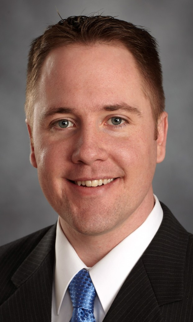 Derek Falvey, 33, Twins executive vice president, chief baseball officer. (Photo ctsy Minnesota Twins Baseball Club)