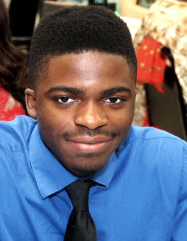 "Undated courtesy photo of Chukwudi Benjamin ""Ben"" Onyeaghala. The body of Onyeaghala, a Winona State University student, was recovered from the Mississippi River near Winona, Minn. on Oct. 18, 2016. Onyeaghala, 19, of White Bear Lake, was last seen on Friday, October 7, 2016 near Sixth and Huff in Winona just before midnight. He enrolled at WSU in fall 2015 and was majoring in Exercise and Rehabilitative Sciences: Movement Science. (Courtesy photo)"