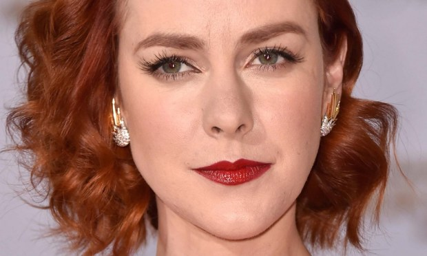 "Actress Jena Malone of ""The Hunger Games: Catching Fire."" She also portrayed Jenet Klyburn in Ben Affleck's ""Batman v. Superman"" blockbuster. (Getty Images: Frazer Harrison)"