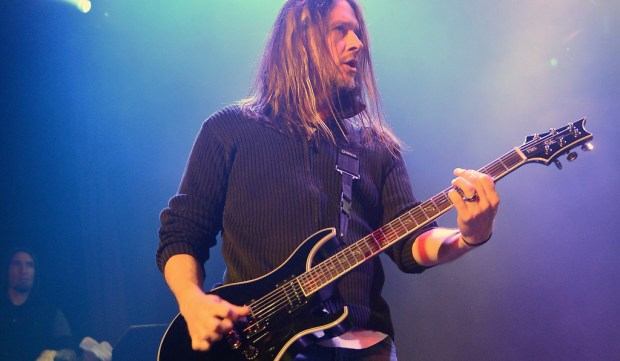 Guitarist Troy McLawhorn of the bands Evanescence and Seether is 48. (Ethan Miller/Getty Images)