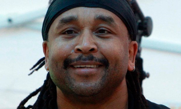 Drummer Carter Beauford of the Dave Matthews Band is 57. (AP Photo/Richard Drew)
