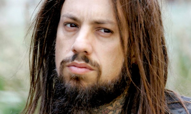 Bassist Fieldy of Korn is 45. (AP Photo/Mary Altaffer)