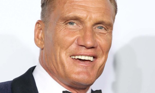"Actor Dolph Lundgren — ""Rocky IV,"" ""The Expendables"" — is 59. (Photo by Jonathan Leibson/Getty Images for Ferrari North America)"