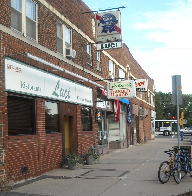 Ristorante Luci on Cleveland Avenue in St. Paul will close at the end of the year. (Pioneer Press file photo)