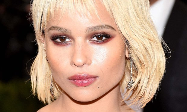 "Actress Zoe Kravitz -- ""Mad Max: Fury Road,"" ""Fantastic Beasts and Where to Find Them,"" ""X-Men,"" ""Divergent""/""Insurgent"" -- is 28. She's daughter of rocker-actor Lennie Kravitz and actress Lisa Bonet. (Getty Images: Larry Busacca)"
