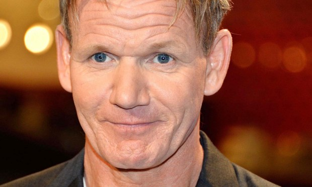 Celebrity chef Gordon Ramsay is 50. (Frazer Harrison/Getty Images)