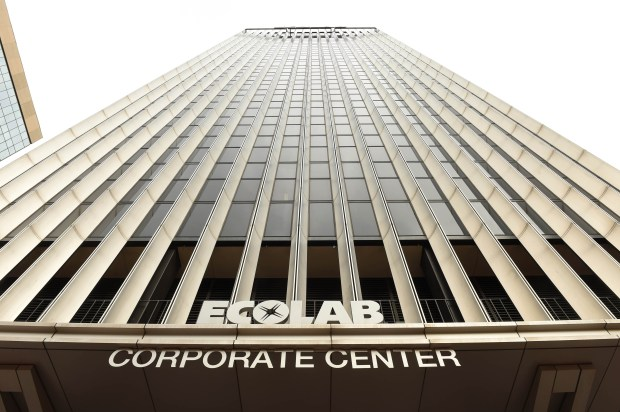Ecolab corporate headquarters in downtown St. Paul, Wednesday, Nov. 2, 2016. (Pioneer Press: Scott Takushi)