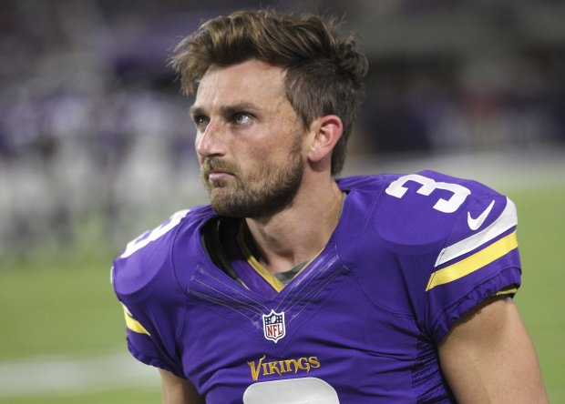 Vikings kicker Blair Walsh. (AP Photo/Andy Clayton-King, File)