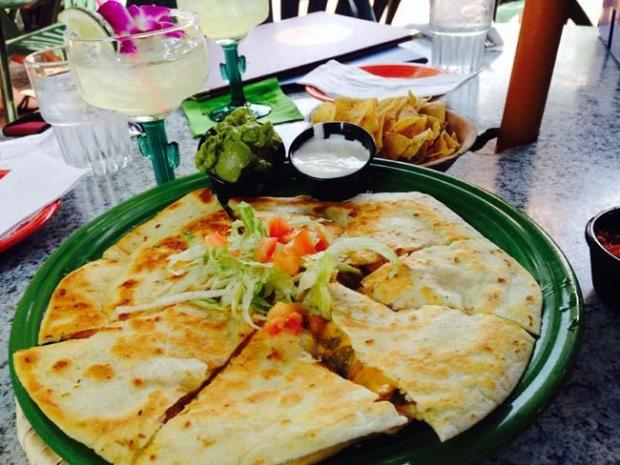 During happy hour at Boca Chica, a quesadilla costs just $5.95, and a margarita is just $4. (Pioneer Press: Jess Fleming)
