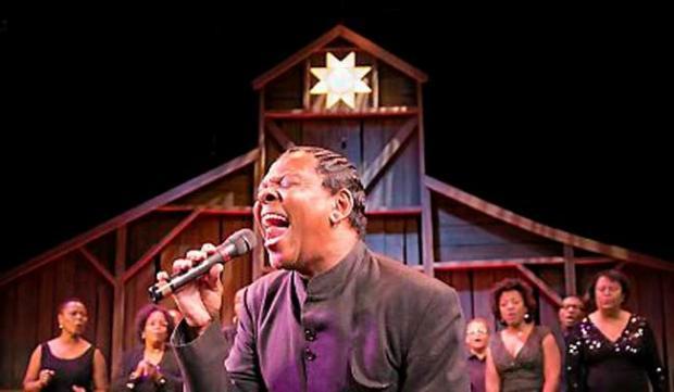 "Dennis Spears in Penumbra Theatre's ""Black Nativity."" (Alan Weeks)"