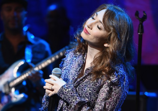 Regina Spektor perfoms on Sept. 22, 2016, in New York City. (Photo by Theo Wargo/Getty Images for Global Citizen)