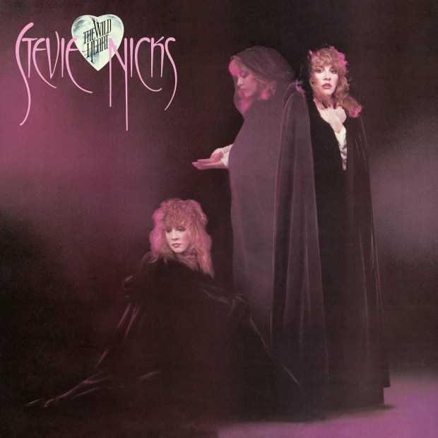 "Stevie Nicks' second solo album, ""The Wild Heart."""