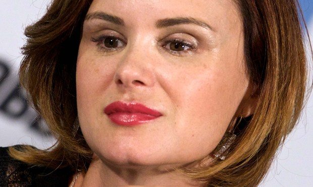 "Actress Keegan Connor Tracy of TV's ""Bates Motel"" and ""Once Upon a Time"" is 45. (Getty Images: Carlos Alvarez)"
