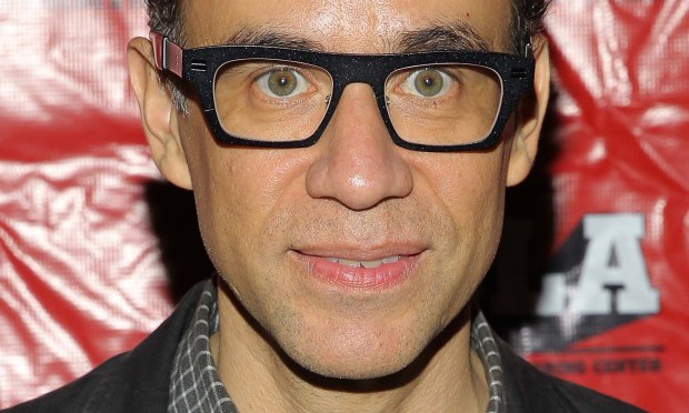 "Comedian and ""Saturday Night Live"" veteran Fred Armisen is 50. His gig these days is ""Portlandia."" Click here to watch a ""Portlandia"" spoof of tailgaters at ""A Prairie Home Companion.""(Getty Images: Jonathan Leibson)"
