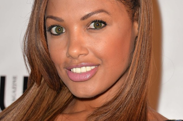 "Model and actress K.D. Aubert of ""Frankenfish"" is 38. (Getty Images: Alberto E. Rodriguez)"