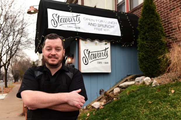 Chef/Owner Max Thompson at Stewart's, 128 N. Cleveland Ave. in St. Paul, Sunday, Nov. 27, 2016. (Pioneer Press: Scott Takushi)