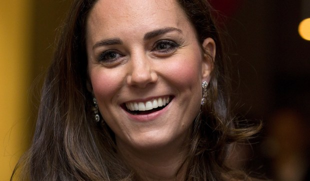 Britain's Princess Kate Middleton -- Catherine, Duchess of Cambridge -- is 35 and mother of two Royal Offspring. (Getty Images: Justin Tallis)