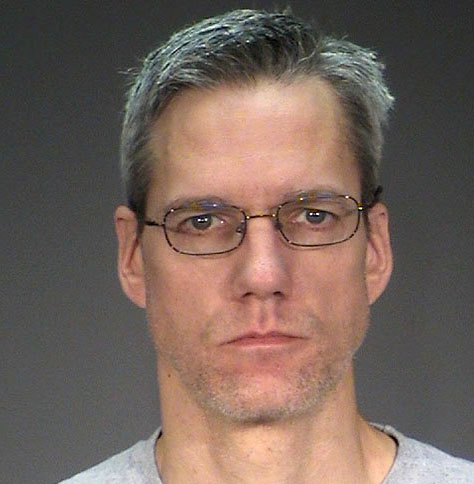 Cottage Grove police on Tuesday, Jan. 17, 2017, arrested Stephen Carl Allwine, 43, and booked him into the Washington County jail on probable cause of second-degree murder in connection with the November death of his wife, Amy Louise Allwine, 43. Her death was deemed suspicious and led to a two-month investigation. (Washington County sheriff's office via Forum News Service)