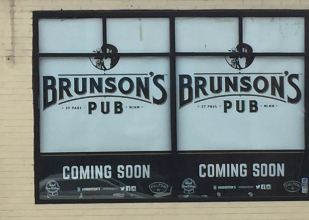 Brunson's Pub in St. Paul gets ready to open in early 2017.(Pioneer Press: Nancy Ngo)