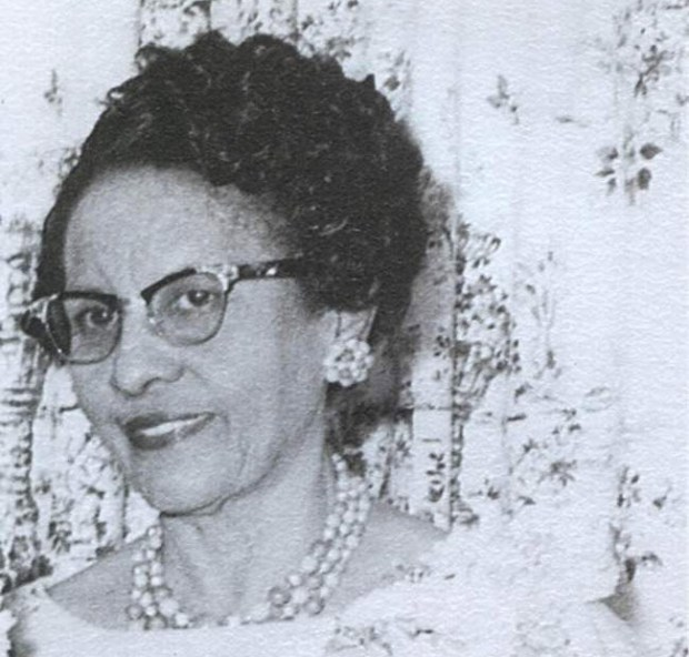 "Miriam Mann began working as a human computer at NASA in 1943. She risked getting fired when she kept removing a sign on a cafeteria table that said ""Colored Computers."" Mann is the grandmother of Macalester College professor Duchess Harris. (Courtesy photo)"