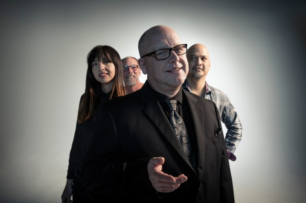 Classic alt-rock band the Pixies.