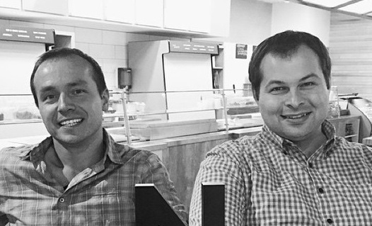 Sprout Salad Company founders Daniel Gittsovich and Dmitry Koenigsberg. (Courtesy Photo)