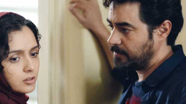 """When a couple (Taraneh Alidoosti, left, and Shahab Hosseini) moves into a new apartment, their relationship faces unexpected challenges in """"The Salesman."""" (Cohen Media Group)"""