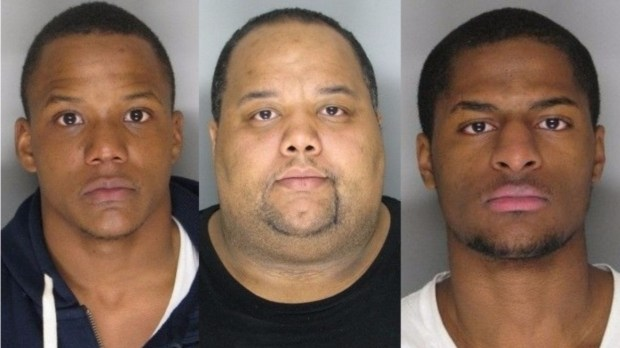 Michael Dunnorm, Dante Vontrail and Anthony Williams (courtesy of the Ottertail County Sheriff's Department)