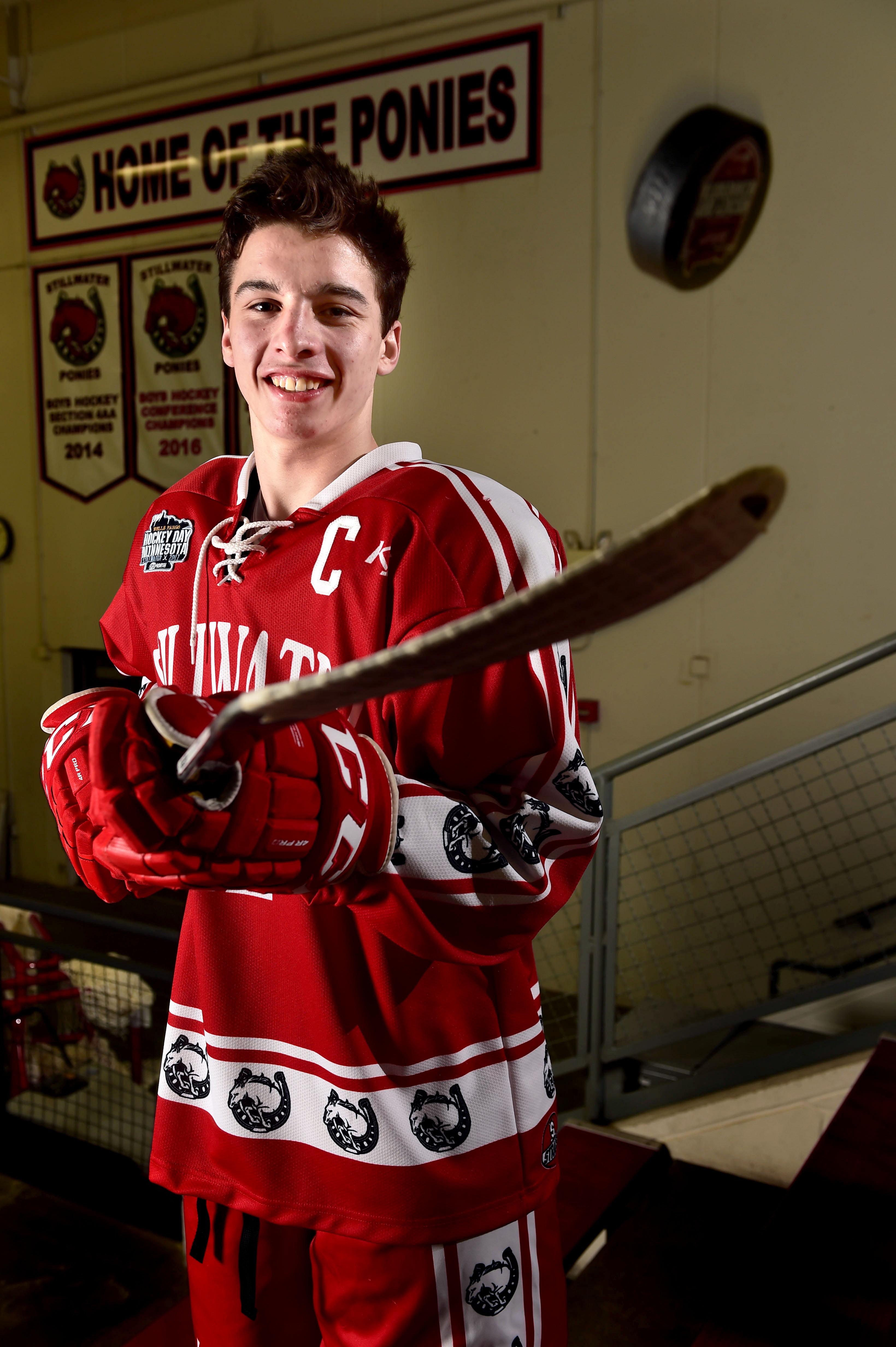 MN H.S.: East Metro Hockey Player Of Year - Noah Cates, Stillwater