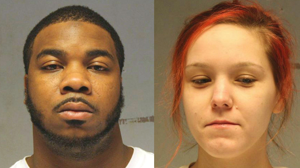 Xavier Alfred Haywood, 26, and Tara Rai Baker, 22, both of Duluth, have been charged in the Feb. 14 slaying of William Grahek, 22, a University of Minnesota-Duluth student and the son of a St. Paul police sergeant. (Forum News Service via St. Louis County sheriff's office)