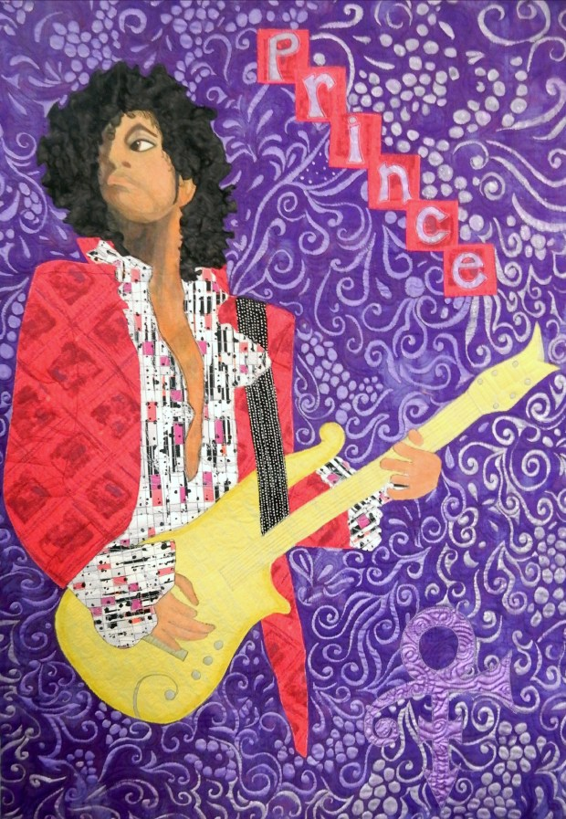 """In Honor of Prince,"" by Betsy Shannon, Minneapolis."