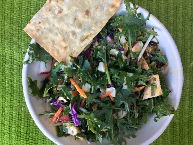 Chop Chop salad with balsamic black garlic dressing at Sprout Salad Company. April 2017 photo. (Nancy Ngo / Pioneer Press)