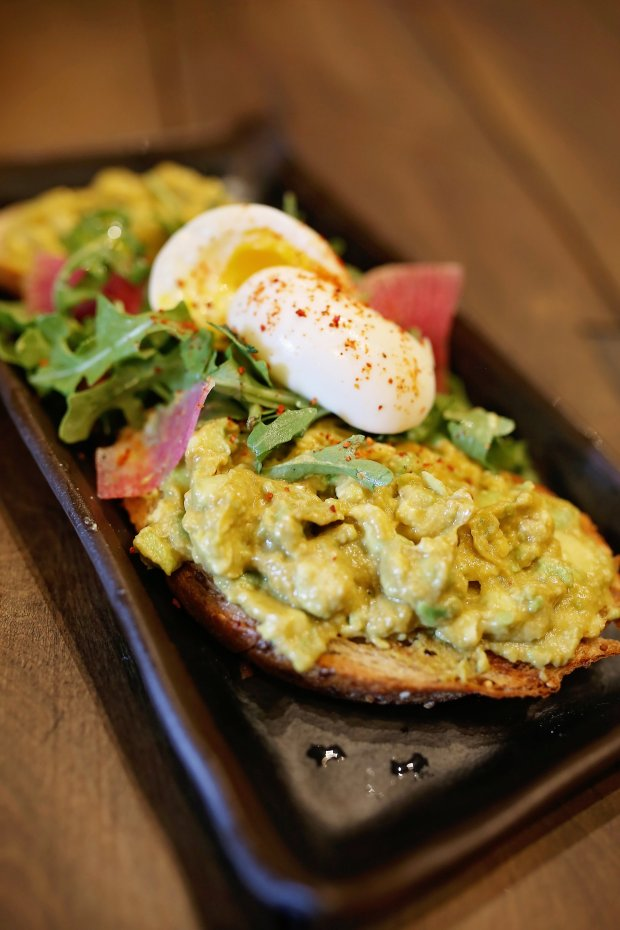 Avocado Toast with 7-minute egg at Bushel & Peck at Mill City Museum.(Courtesy of D'Amico Catering).