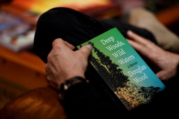 """Doug Wood talks about his memoir, """"Deep Woods, Wild Waters: A Memoir."""" (Jean Pieri / Pioneer Press)"""